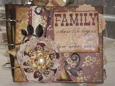 Simple Stories Generations Mini Album
