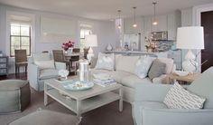 open living area | designed by Elizabeth Gullett of SummerHouse Interior Design