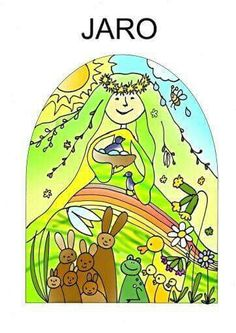 Rocni obdobi Preschool Education, Elementary Science, Projects For Kids, Art Projects, Weather Seasons, Spring Art, Four Seasons, Classroom Decor, Coloring Pages