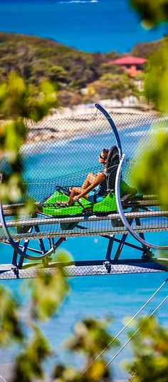 Enjoy the beauty of Labadee as you slowly rise up from the beach on Santa Maria's lookout mountain. The Dragon's Breath roller coaster then sends you on a thrilling ride that reaches 30 miles per hour.