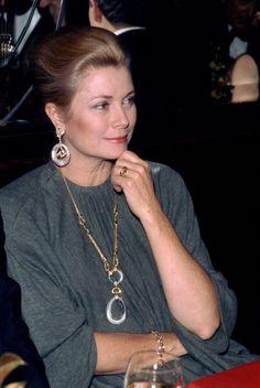 Princess Grace of Monaco at Maxim´s of Paris in 1980