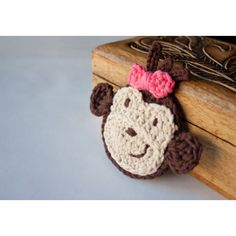 Monkey Applique Crochet