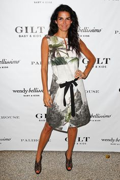 Angie Harmon  20.6.2012   Gilt Baby And Kids Celebrates Wendy Bellissimo Collection