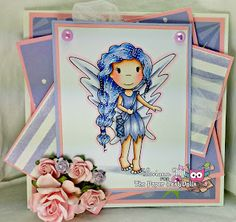 The Paper Nest: Fairy Amara #LoriAnnDaniels #copics