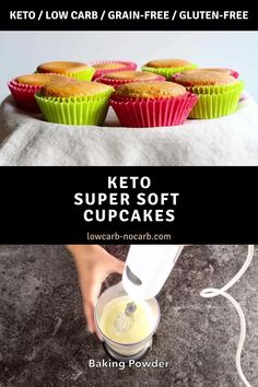 Soft and moist Keto Cupcakes you have to make and use for all of the keto base cupcakes as well as desserts. Fully sugar-free and gluten-free this paleo as well cupcakes are the best ever.