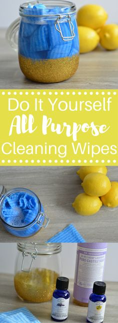 DIY All Purpose Cleaning Wipes