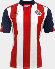 6537f6cb33 Puma apresenta novos uniformes do Chivas Guadalajara - Show de Camisas  Esportes
