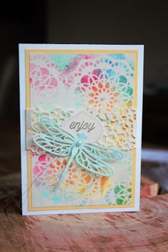 Dragonfly Dreams Stampin' Up! Doilies & More