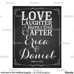 welcome to the wedding happily ever after poster