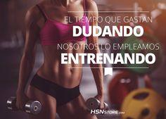 El tiempo que gastan dudando nosotros lo empleamos entrenando. #fitness…