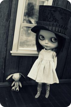 Blythe......how cute is she! Want her!