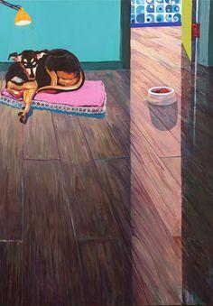 Arthur Arnold / Arte e Vida ao Filé Chateubriand / Acrílica sobre tela - 2011 - 220 x 160 cm