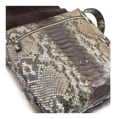 Ghibli exclusive men python shoulder bag vertical messenger colour stone Handmade in Italy