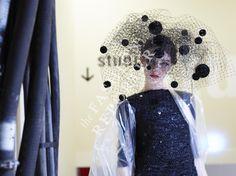 Larissa Marchiori at Giorgio Armani Prive Backstage | Haute Couture FW14-15 | Ph. Antonello Trio