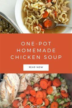 So delicious, so easy, and so healthy! Pasta Recipes Video, Best Pasta Recipes, Pasta Dinner Recipes, Weeknight Recipes, Chicken Pasta Recipes, Recipe Videos, Healthy Soup Recipes, Lunch Recipes, Healthy Soups
