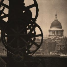 Alvin Langdon Coburn. St. Paul's from Bankside, London, c. 1915.  ©George Eastman House/Published and Printed by 31 Studio.