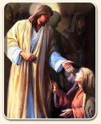 (Luke 13:10 ) And he was teaching in one of the synagogues on the Sabbath. (Luke 13:11 ) And, behold, there was a woman which had a spirit of infirmity eighteen years, and was bowed together, and could in nowise lift up herself. (Luke 13:12 ) And when . . . [Yahushua] saw her, he called her to him, and said unto her,Woman, thou art loosed from thine infirmity. (Luke 13:13 ) And he laid his hands on her: and immediately she was made straight, and glorifiedYahuwah. (Luke 13:14 )