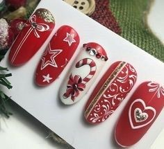 Christmas nail art idea Related posts: The cutest and festive Christmas nail designs to celebrate Christmas hairstyles for younger girls The cutest and festive Christmas … Nail Art Noel, Xmas Nail Art, Cute Christmas Nails, Christmas Nail Art Designs, Holiday Nail Art, Xmas Nails, Winter Nail Designs, Winter Nail Art, Winter Nails