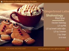 The Holidays may be over but the #GingerbreadLatte Shakeology Recipes is good all year round. Freshly brewed #coffee is the perfect addition to this yummy Chocolate Treat.