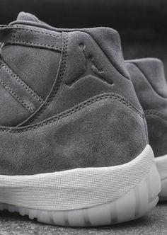 241fbb41b2c5f6 AIR JORDAN 11 RETRO PRM COOL GREY   SAIL  sneakernews  Sneakers   StreetStyle