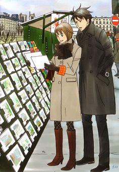 Nodame Cantabile by Ninomiya Tomoko Me Me Me Anime, Anime Love, Anime Guys, Manga Anime, Victorian Mens Clothing, Lovely Complex, Hirunaka No Ryuusei, Superhero Poster, Deadman Wonderland
