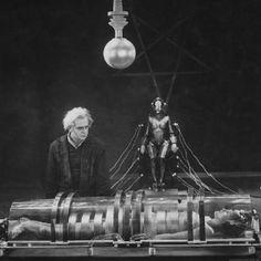 "Transformation into ""Maschinenmensch"", Metropolis (Fritz Lang, 1927)"