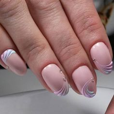 36 Nude Nail Polish Colors – Find The Best Neutral Design – Rosa Pink Nails – - Summer Nail Purple Ideen Nail Art Designs, Manicure Nail Designs, Elegant Nail Designs, Nail Manicure, Gel Nails, Nude Nails, Pink Nails, Natural Nail Polish, Nagel Hacks