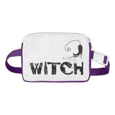 """Witch"" in Black Cat Letters & A Black Cat"