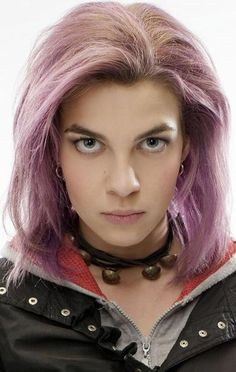 Natalia Tena (here as Tonks from Harry Potter).