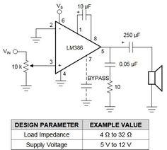 28 best audio circuits images in 2019audio voice over circuit diagram using lm386