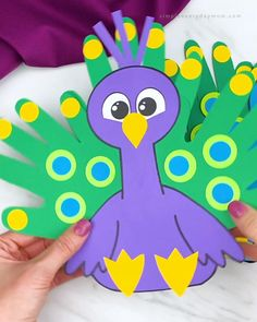 Paper Craft For Kids, Cool Crafts For Kids, Craft Work For Kids, Creative Activities For Kids, Animal Crafts For Kids, Easy Paper Crafts, Fun Crafts, Art For Kids, Daycare Crafts