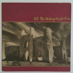 U-2 - The Unforgettable Fire Island Records Inc. 90231-1 from 1984