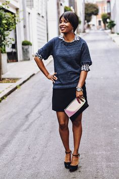 j'adore couture: bejeweled sweatshirt
