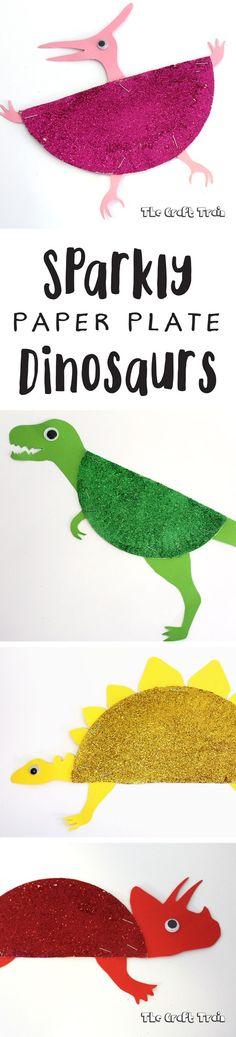 Paper plate dinosaurs | Dinosaur Templates