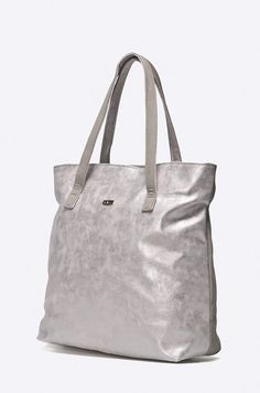 Poseta mare argintie cu doua fete Tote Bag, Bags, Fashion, Purses, Moda, Fashion Styles, Tote Bags, Taschen, Totes