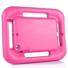 For+iPad+Mini+1/2/3+Magenta+EVA+Steering+Wheel+Style+Handle+Protective+Case