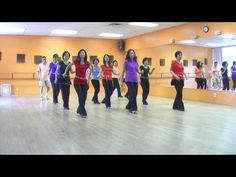 Sambamania - Line Dance (Dance & Teach in English & 中文)