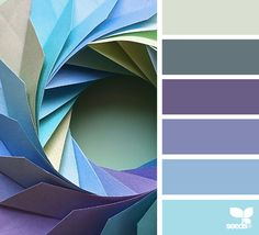 { folded hues } | image via: @color_japan