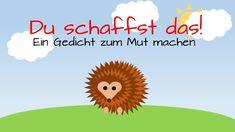 """""""Ernst der kleine Igel"""" - Ein Gedicht zum Mut machen - Rechnen/ Zählen l..."""