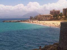 Beaches of Palermo, Italy