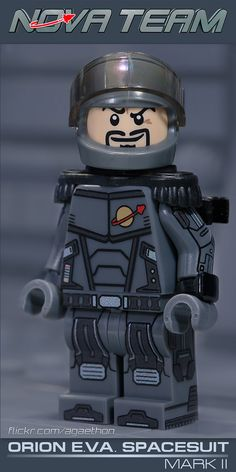 Every Spacesuit NASA Astronauts Have Worn - The Celestial World Cool Lego, Cool Toys, Storm Comic, Lego Spaceship, Lego Minifigs, Lego Group, The Design Files, Custom Lego, Lego Brick