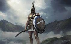 Download wallpapers Total War Arena, 2017, King Leonidas, Character, Leonidas I, Sparta, 4k, Warrior, Spartan