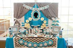 Such Cute Ideas via Kara's Party Ideas | Cake, decor, cupcakes, games and more! KarasPartyIdeas.com