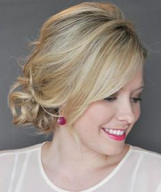 The Side Updo With a Twist   An elegant party look is as easy as 1-2-3 with hairstyles created exclusively for Real Simple by Kate Bryan, the woman behind the popular Small Things Blog.