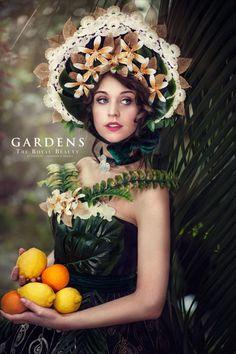 """Kostium w stylu z XIX wieku. Projekt """"The Royal Beauty. Duchess of Orangery"""". Trendy Fashion, Fashion Show, Royal Beauty, Jewelry Trends, Exotic, Fashion Jewelry, Gowns, Winter, Model"""