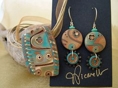 Julie Picarello Polymer Clay | Julie Picarello | Creative Polymer Clay Jewelry