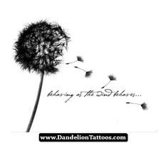 Dandelion Tattoo Signifies 09 - http://dandeliontattoos.com/dandelion-tattoo-signifies-09/