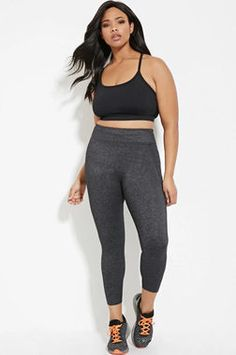 Sleek but simple, these Athletic Leggings ($22.90, forever21.com) are stretchy and comfortable, but they're also up to withstanding tough workouts.
