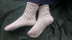 Summer silk socks