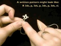 How to make the picot in tatting. This simple, step-by-step video will take the mystery out of this tatting secret.    This is part of the Absolute Beginner Tatting Series, by http://www.tattedtreasures.com.